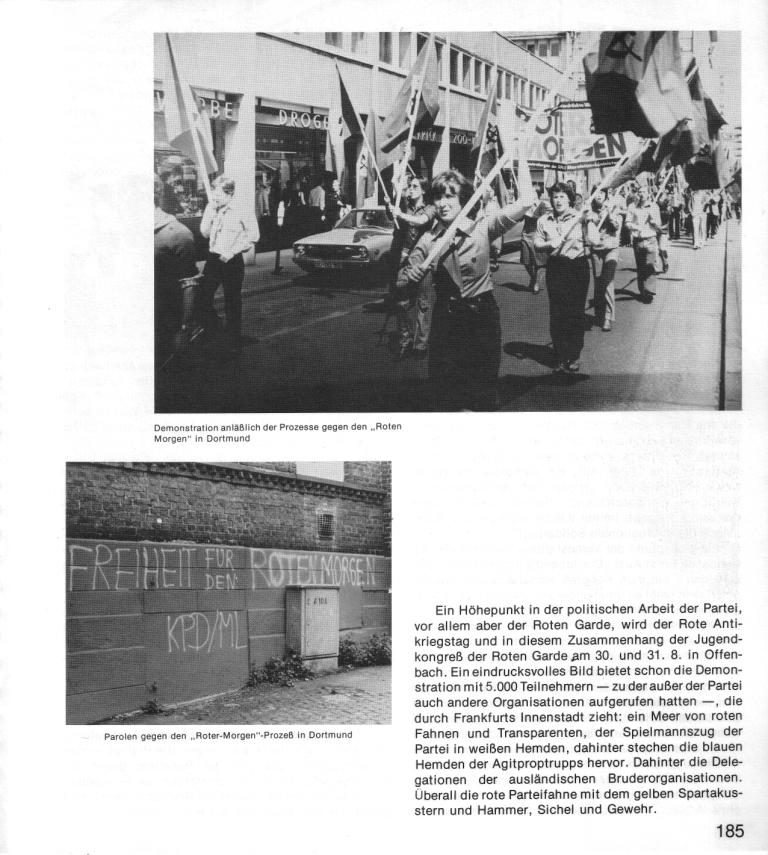 Zehn Jahre KPD/ML, Seite 185