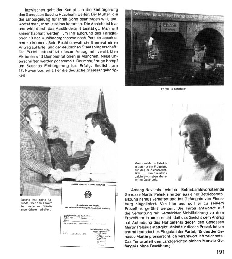 Zehn Jahre KPD/ML, Seite 191