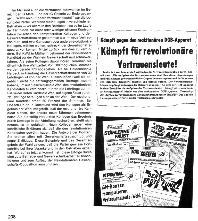 Zehn Jahre KPD/ML, Seite 208