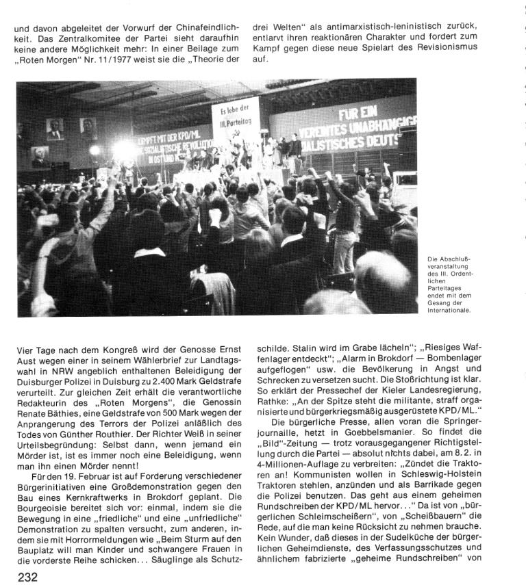 Zehn Jahre KPD/ML, Seite 232