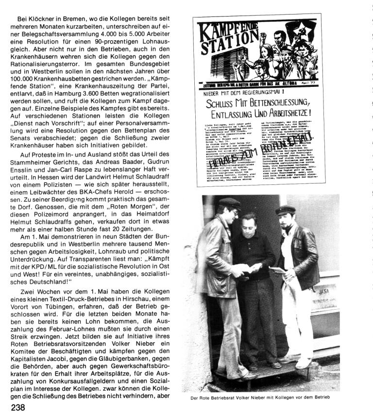 Zehn Jahre KPD/ML, Seite 238