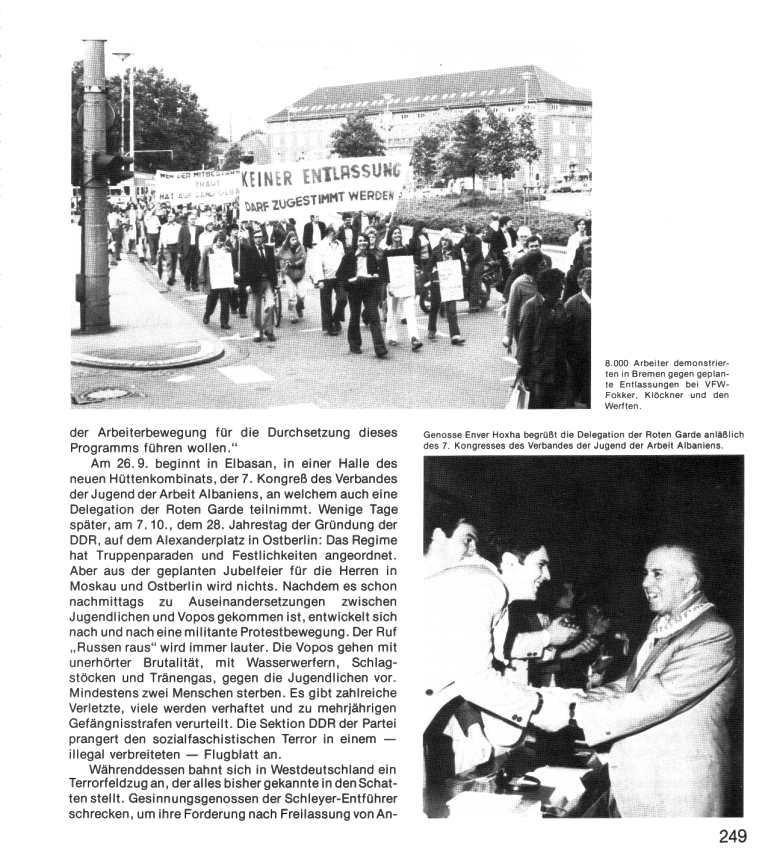 Zehn Jahre KPD/ML, Seite 249