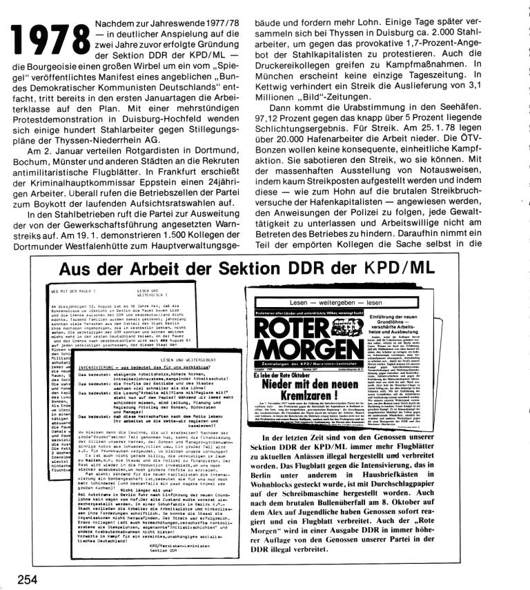Zehn Jahre KPD/ML, Seite 254