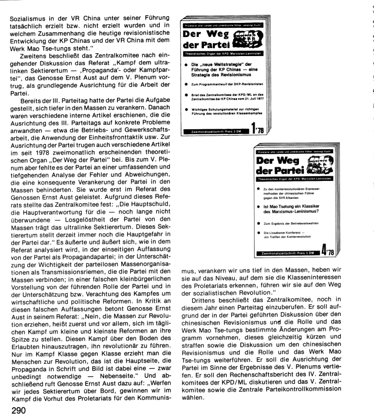 Zehn Jahre KPD/ML, Seite 290