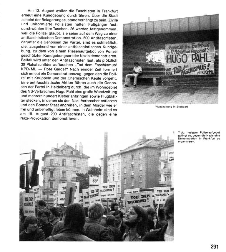 Zehn Jahre KPD/ML, Seite 291