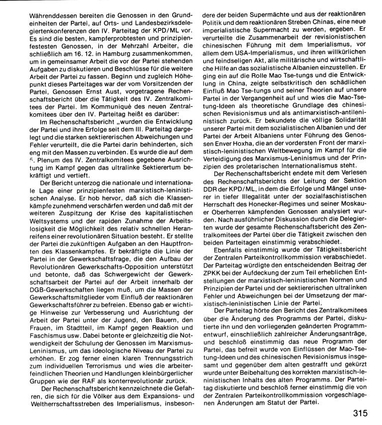 Zehn Jahre KPD/ML, Seite 315