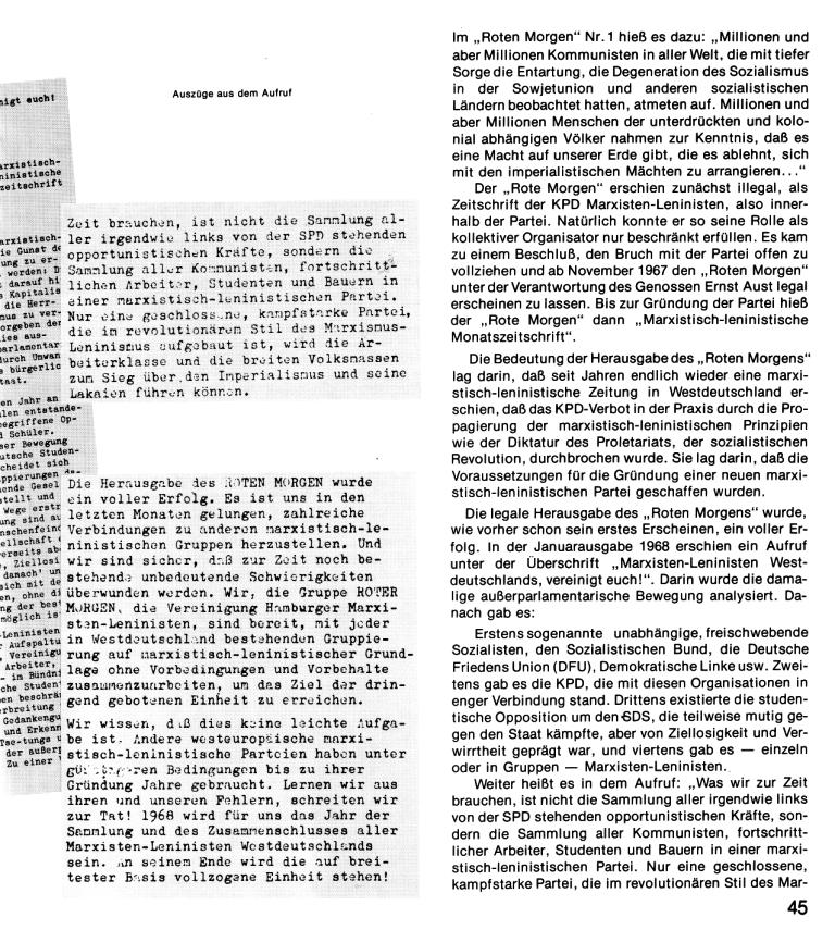 Zehn Jahre KPD/ML, Seite 45