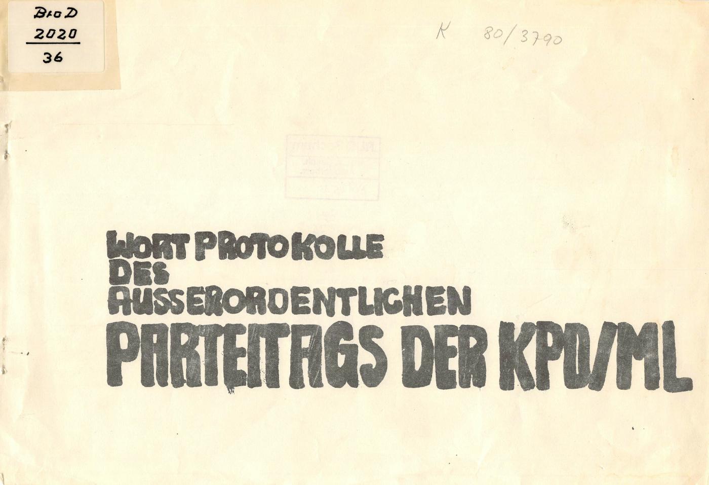 KPDML_1971_Wortprotokolle_aoPt_001