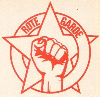 Neues Enblem der Roten Garde (1978)