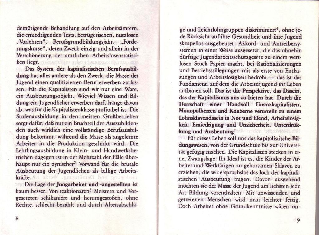 RG_Broschüre: Wofür kämpft die Rote Garde? (Mai 1978), Seite 8f.