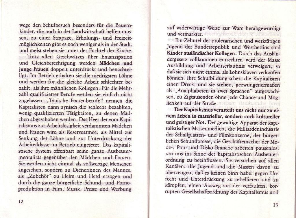 RG_Broschüre: Wofür kämpft die Rote Garde? (Mai 1978), Seite 12f.
