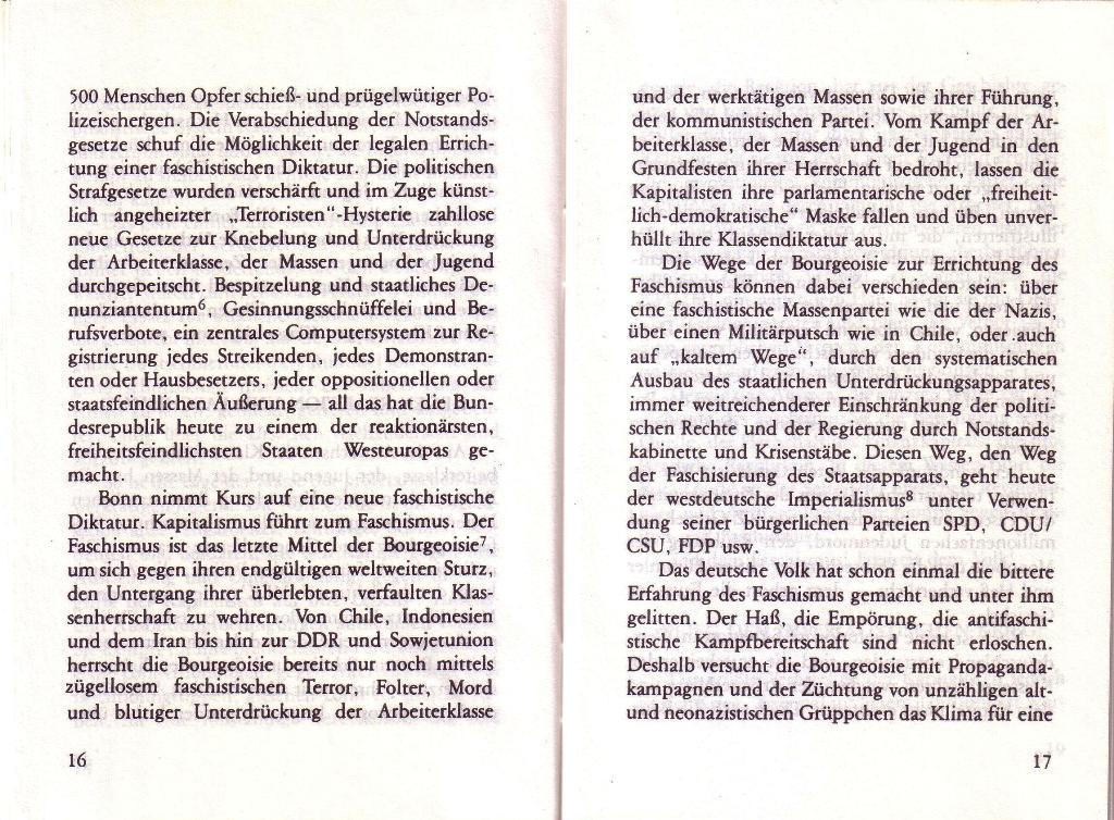 RG_Broschüre: Wofür kämpft die Rote Garde? (Mai 1978), Seite 16f.