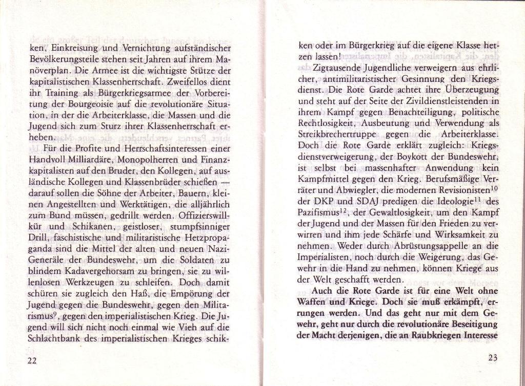 RG_Broschüre: Wofür kämpft die Rote Garde? (Mai 1978), Seite 22f.