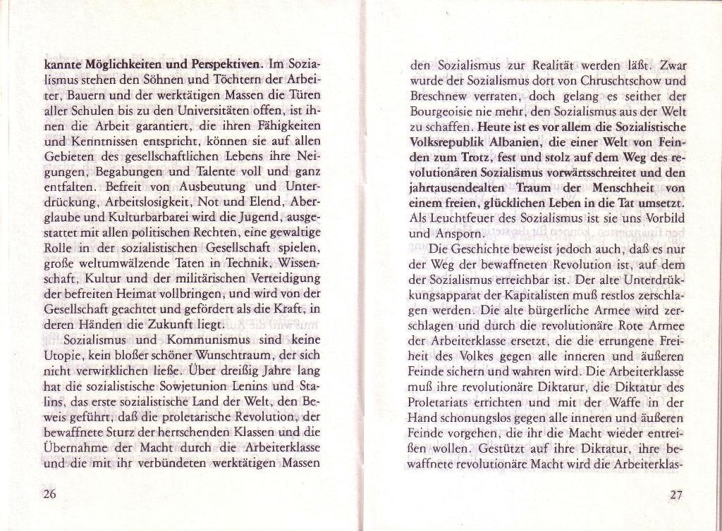 RG_Broschüre: Wofür kämpft die Rote Garde? (Mai 1978), Seite 26f.