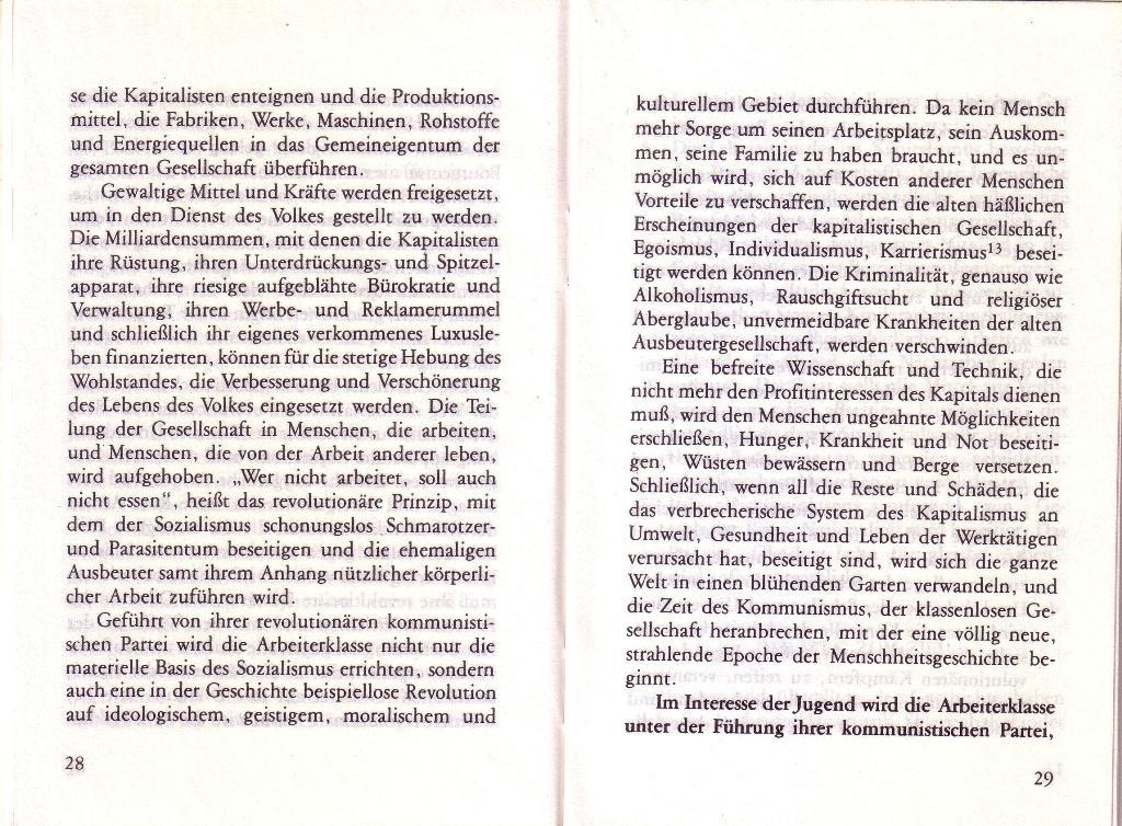 RG_Broschüre: Wofür kämpft die Rote Garde? (Mai 1978), Seite 28f.