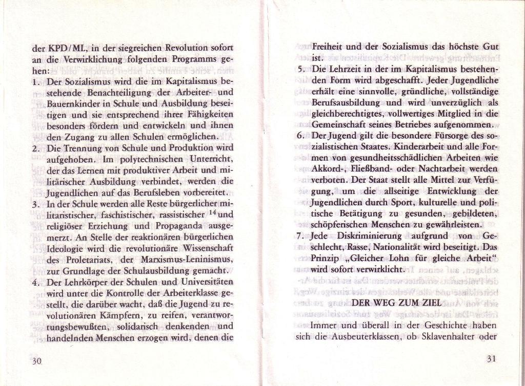 RG_Broschüre: Wofür kämpft die Rote Garde? (Mai 1978), Seite 30f.