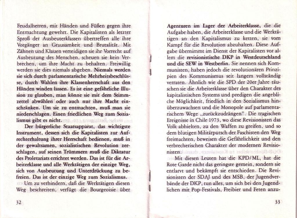 RG_Broschüre: Wofür kämpft die Rote Garde? (Mai 1978), Seite 32f.