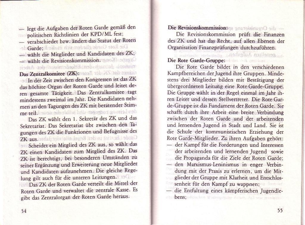 RG_Broschüre: Wofür kämpft die Rote Garde? (Mai 1978), Seite 54f.