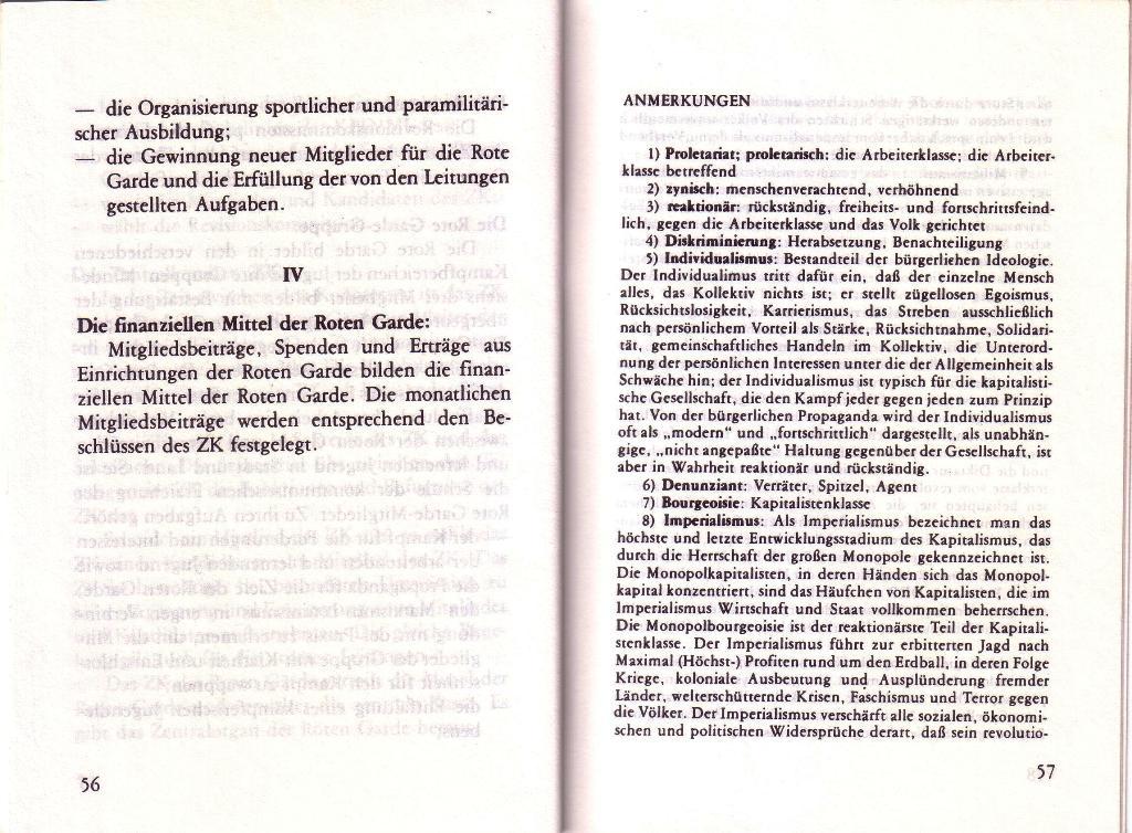 RG_Broschüre: Wofür kämpft die Rote Garde? (Mai 1978), Seite 56f.