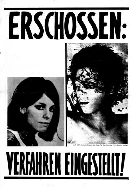 Plakat Petra Schelm