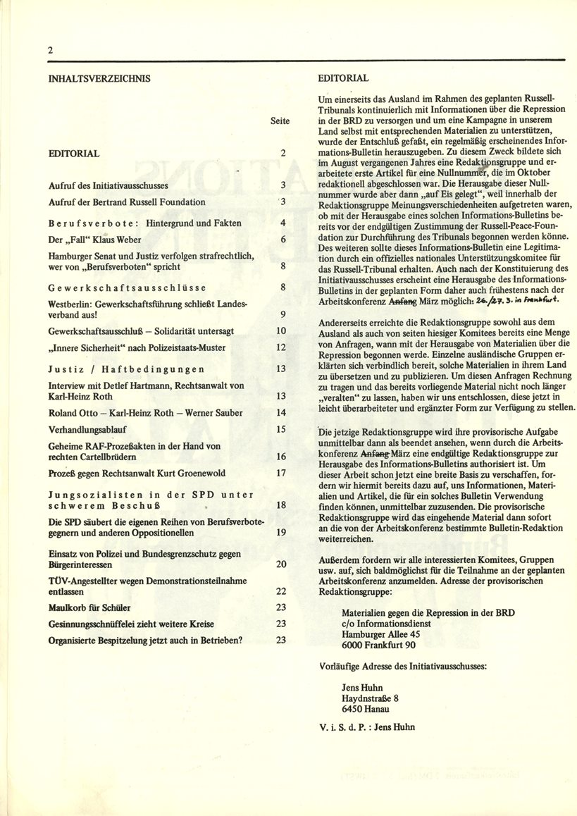 Initiativausschuss_Russell_Tribunal_Informationsbulletin_1977_02