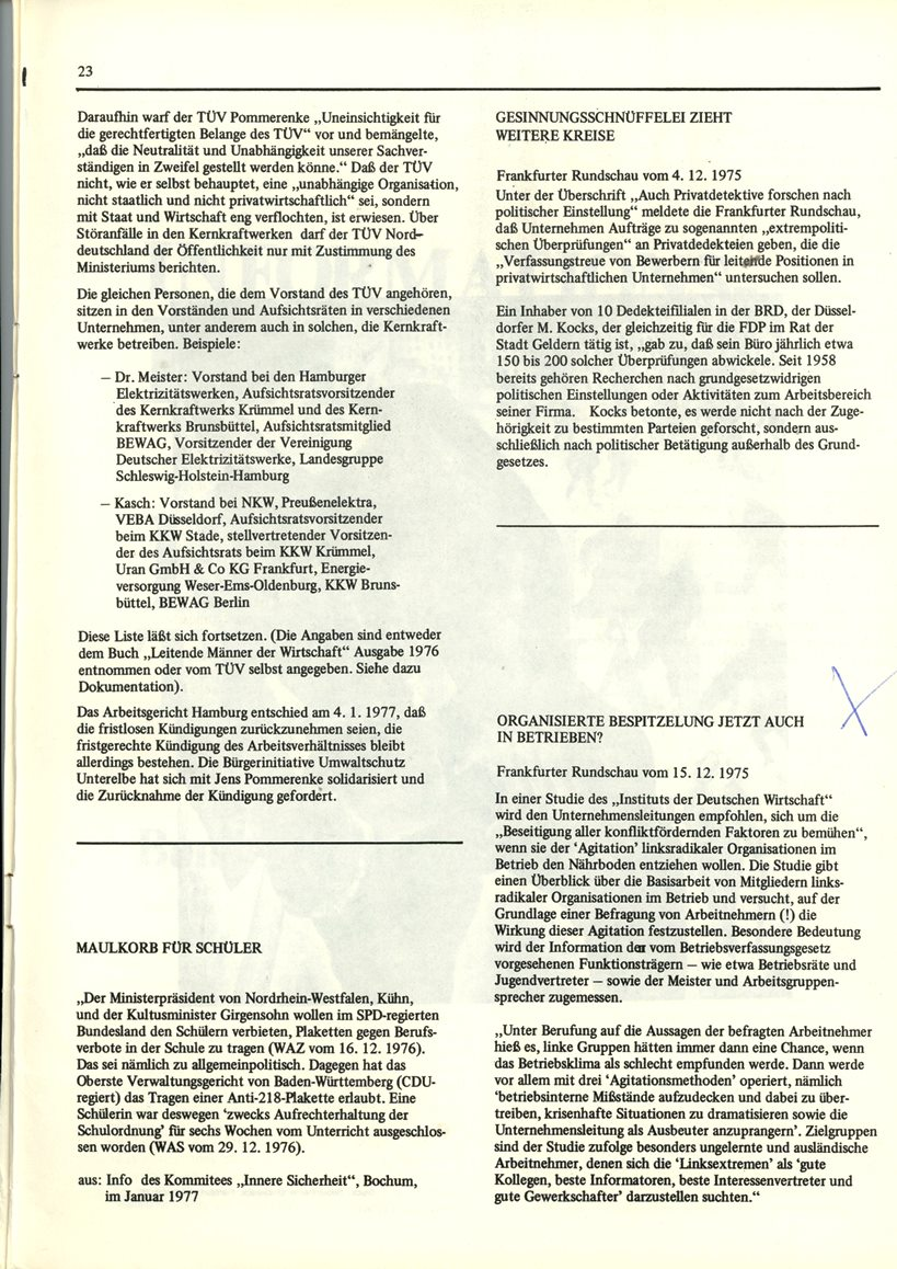 Initiativausschuss_Russell_Tribunal_Informationsbulletin_1977_23