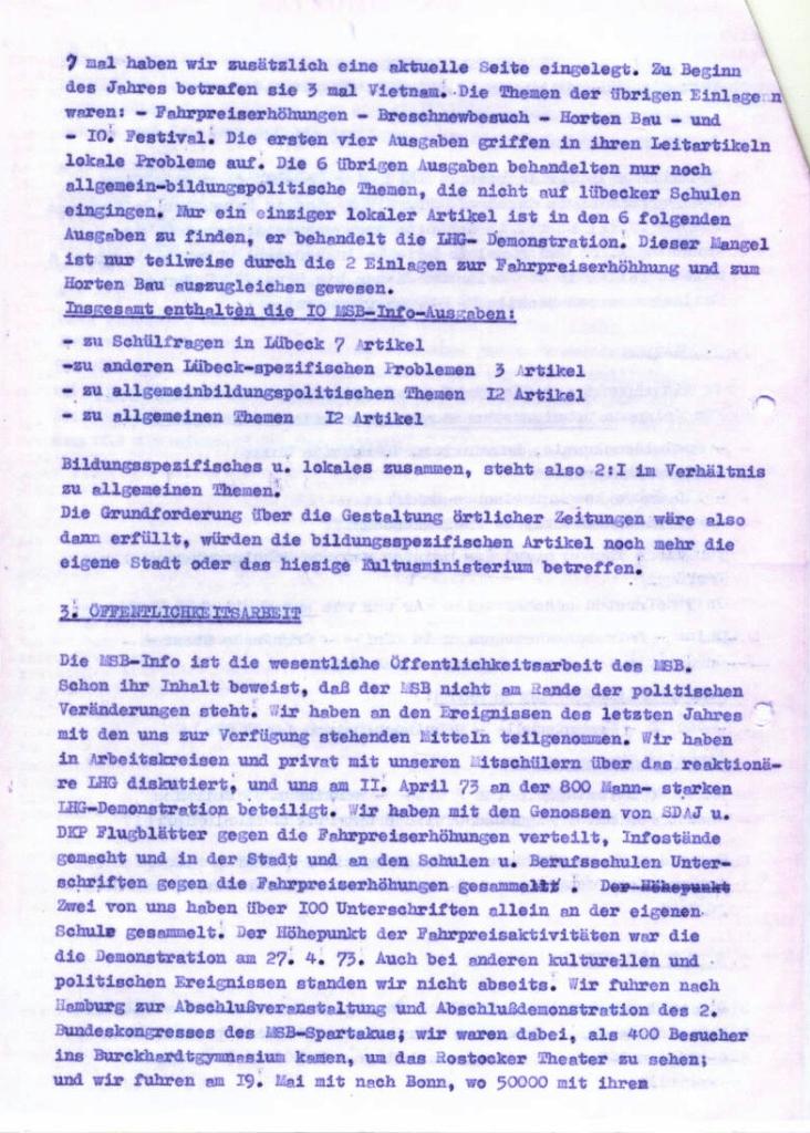 MSB_Rechenschaftsbericht, 1973, Seite 4
