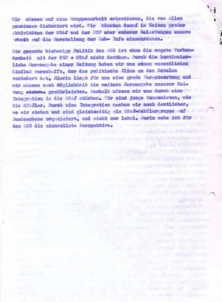 MSB_Rechenschaftsbericht, 1973, Seite 6