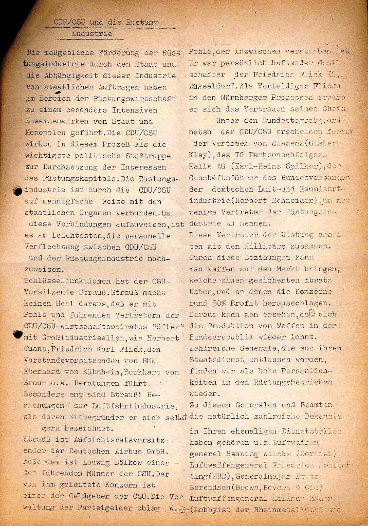 Marxistische Schülergruppe OzD: Info, Nr. 2, Lübeck, Dez. 1971, Seite 3