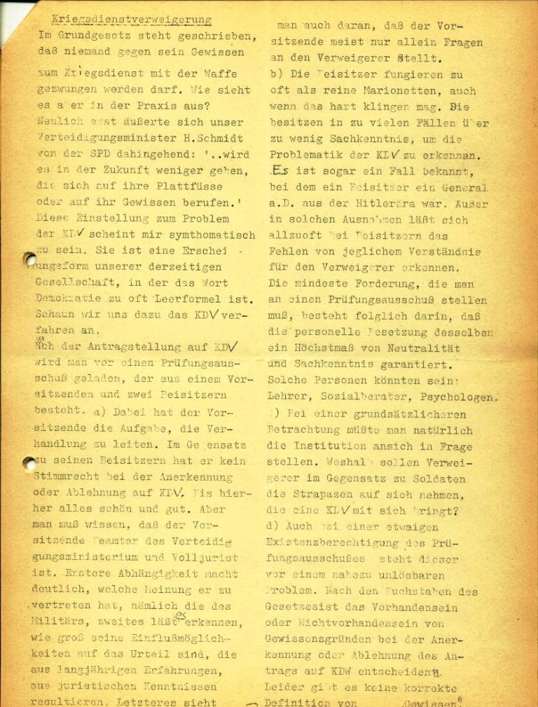 Marxistische Schülergruppe OzD: Info, Nr. 3, Lübeck, Jan. 1972, Seite 3