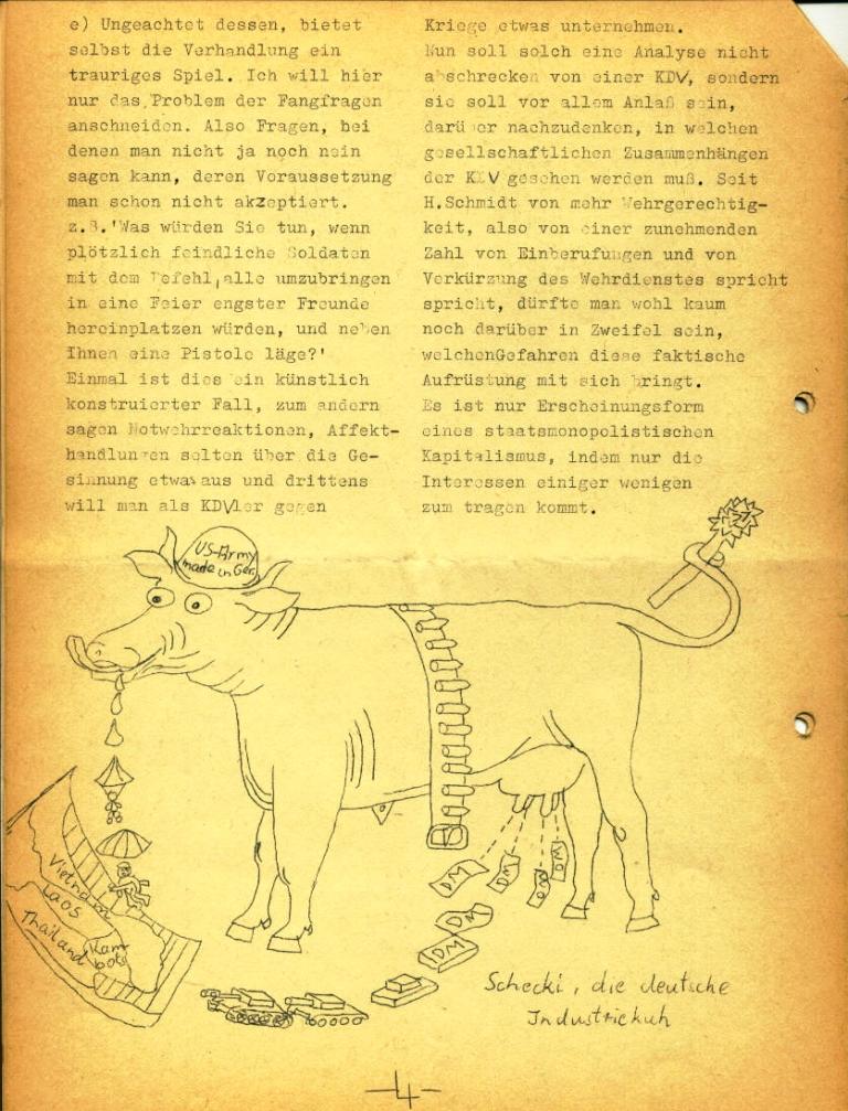 Marxistische Schülergruppe OzD: Info, Nr. 3, Lübeck, Jan. 1972, Seite 4