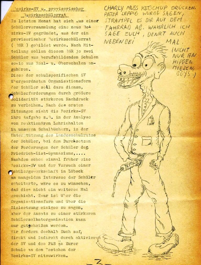Marxistischer Schülerbund: Info, Nr. 4, Lübeck, Feb. 1972, Seite 3
