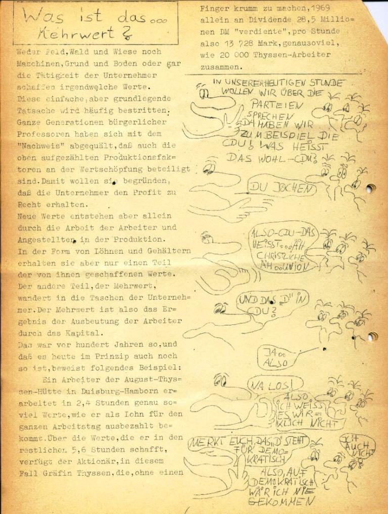 Marxistischer Schülerbund: Info, Nr. 4, Lübeck, Feb. 1972, Seite 6