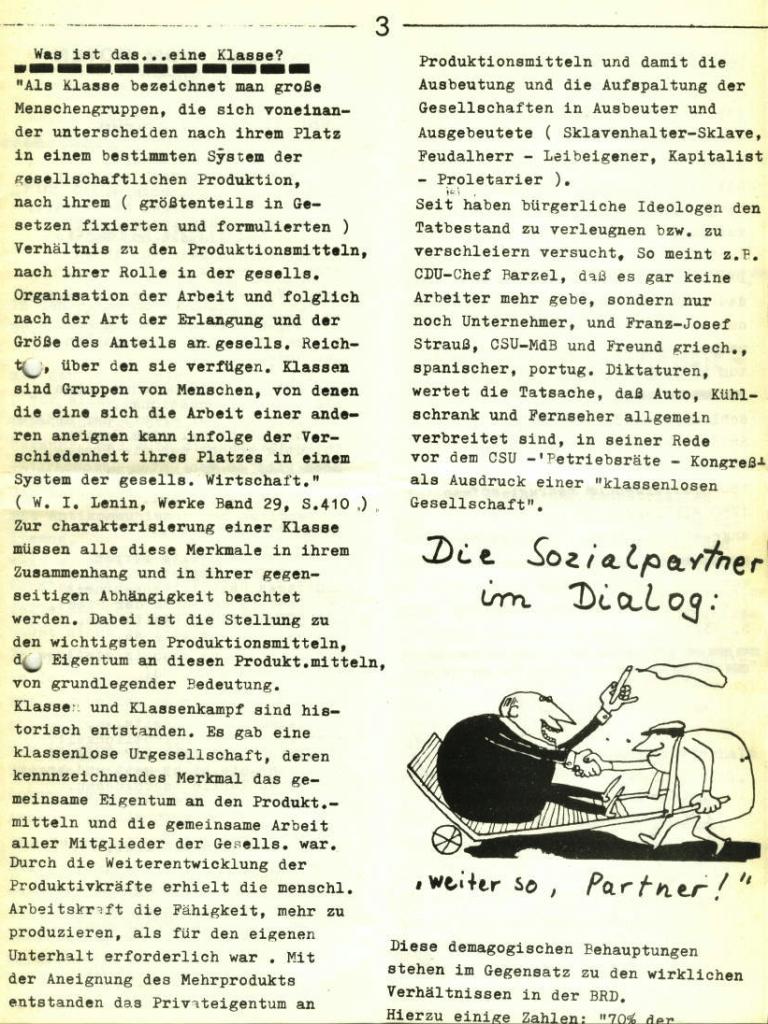 Marxistischer Schülerbund: Info, Nr. 5, Lübeck, 1972, Seite 3