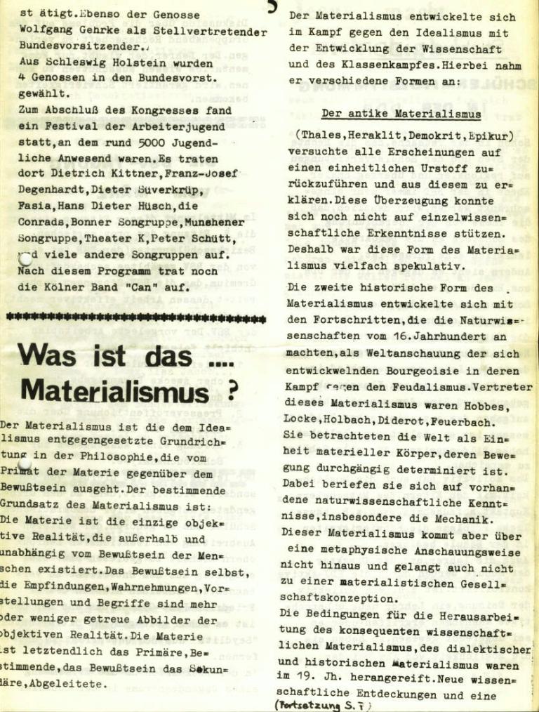 Marxistischer Schülerbund: Info, Nr. 6, Lübeck, April 1972, Seite 5