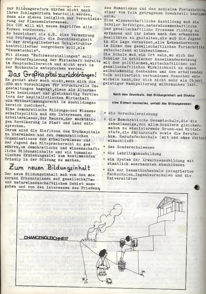 Marxistischer Schülerbund: Info, Nr. 7, Lübeck, Mai/Juni 1972, Seite 2