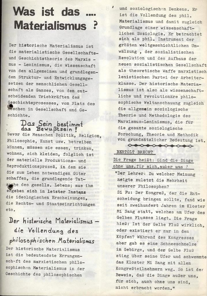 Marxistischer Schülerbund: Info, Nr. 7, Lübeck, Mai/Juni 1972, Seite 7