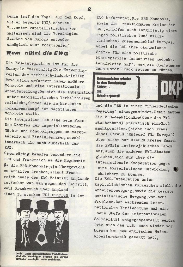 Marxistischer Schülerbund: Info, Nr. 12, Lübeck, Oktober 1972, Seite 6