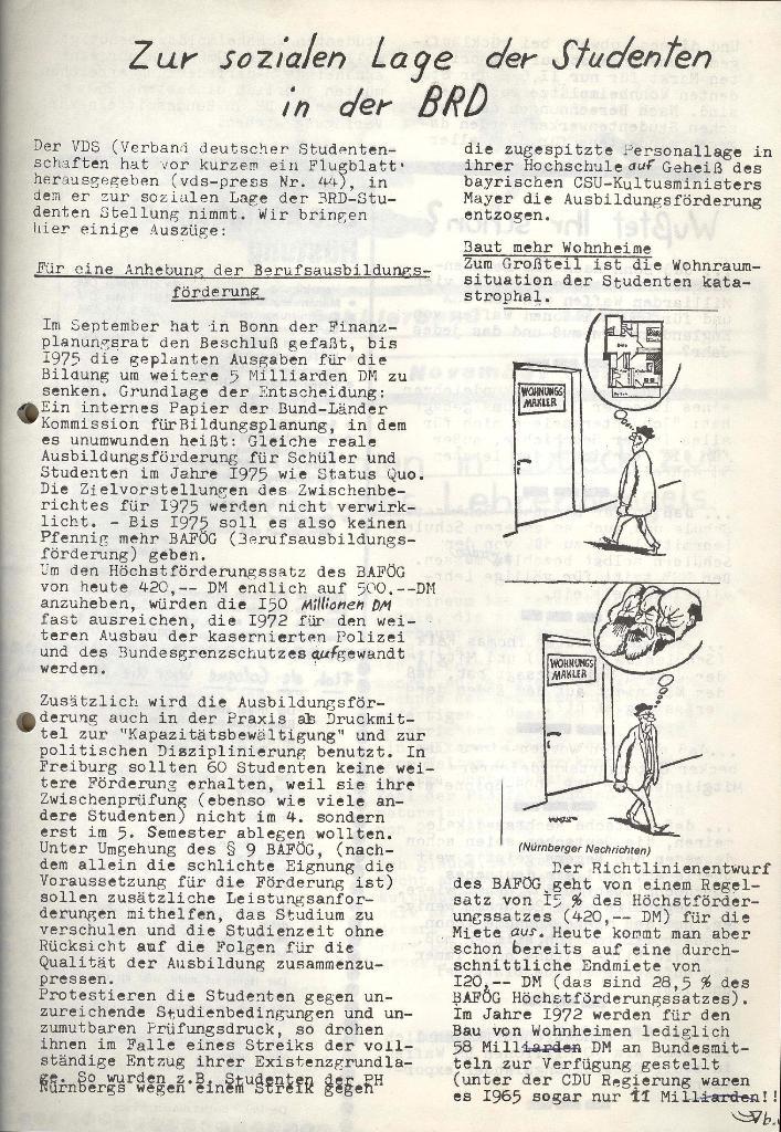 Marxistischer Schülerbund: Info, Nr. 14, Lübeck, November 1972, Seite 3
