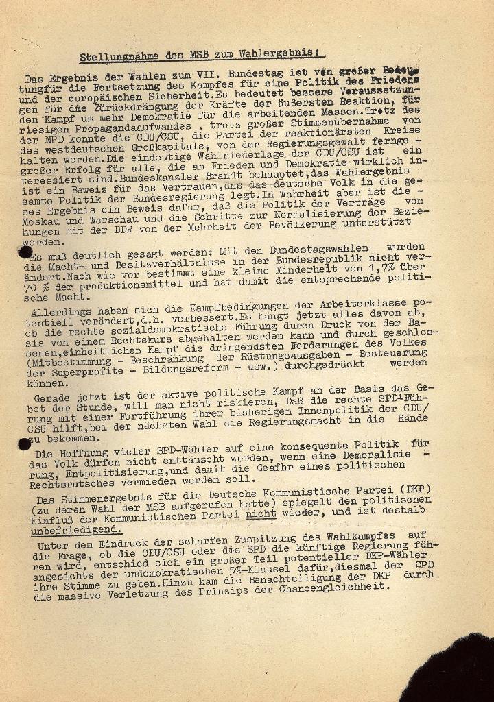 Marxistischer Schülerbund: Info, Nr. 14, Lübeck, November 1972, Seite 5