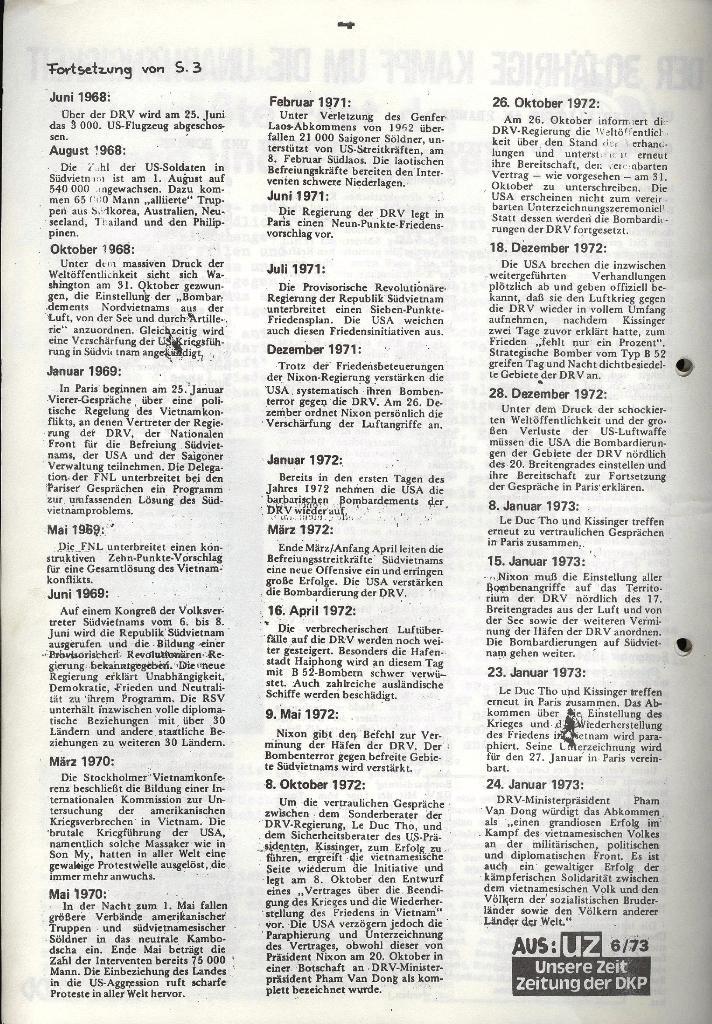 Marxistischer Schülerbund: Info, 3. Jg., Nr. 5, Lübeck, März 1973, Seite 4
