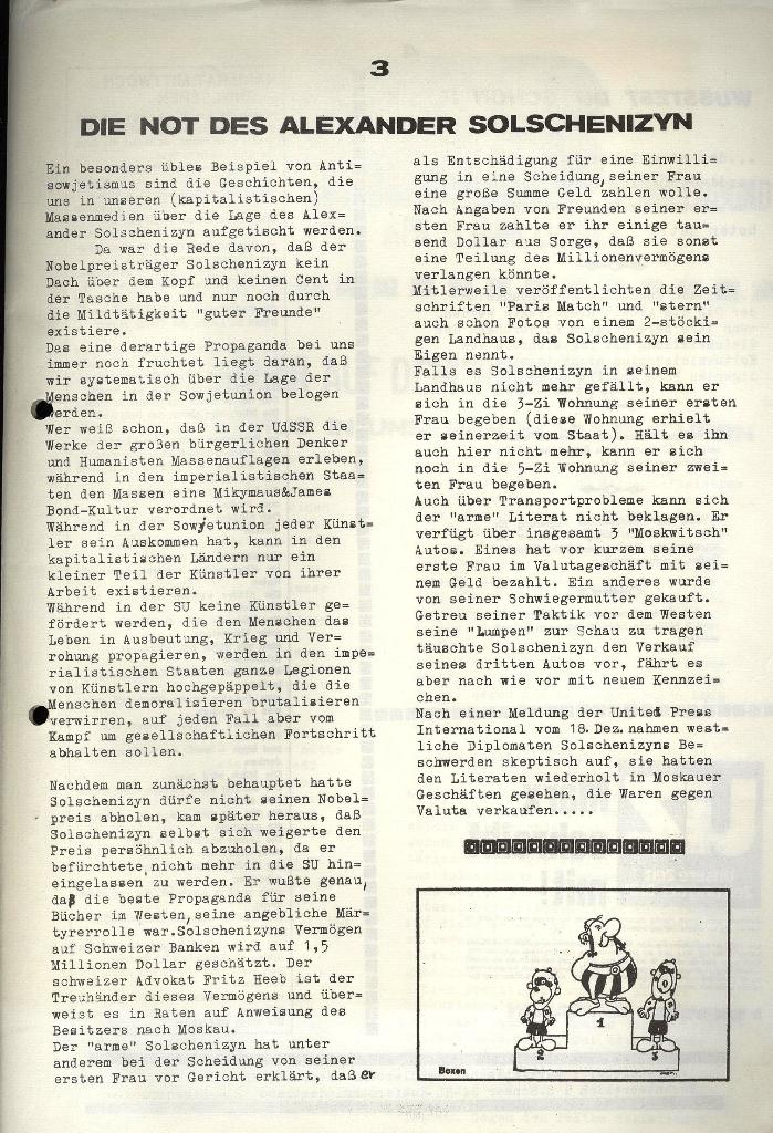 Marxistischer Schülerbund: Info, 3. Jg., Nr. 7, Lübeck, April 1973, Seite 3