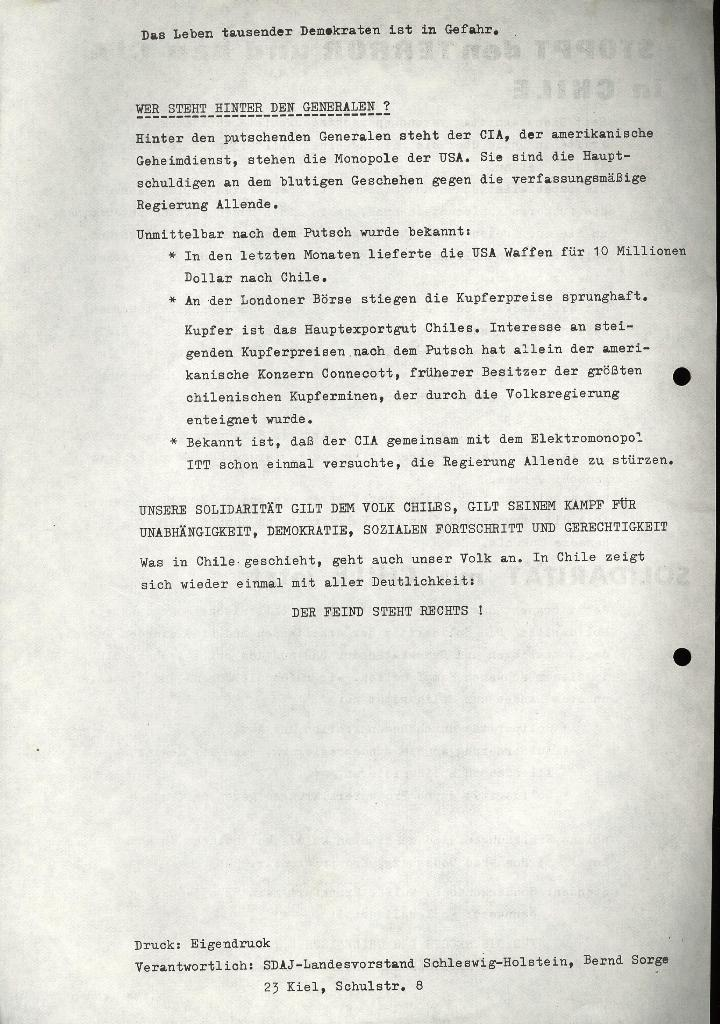 Marxistischer Schülerbund: Info, 3. Jg., Nr. 13, Lübeck, Sept. 1973, Beilage, Seite 2
