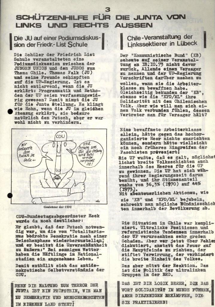 Marxistischer Schülerbund: Info, 3. Jg., Nr. 16, Lübeck, Nov. 1973, Seite 3