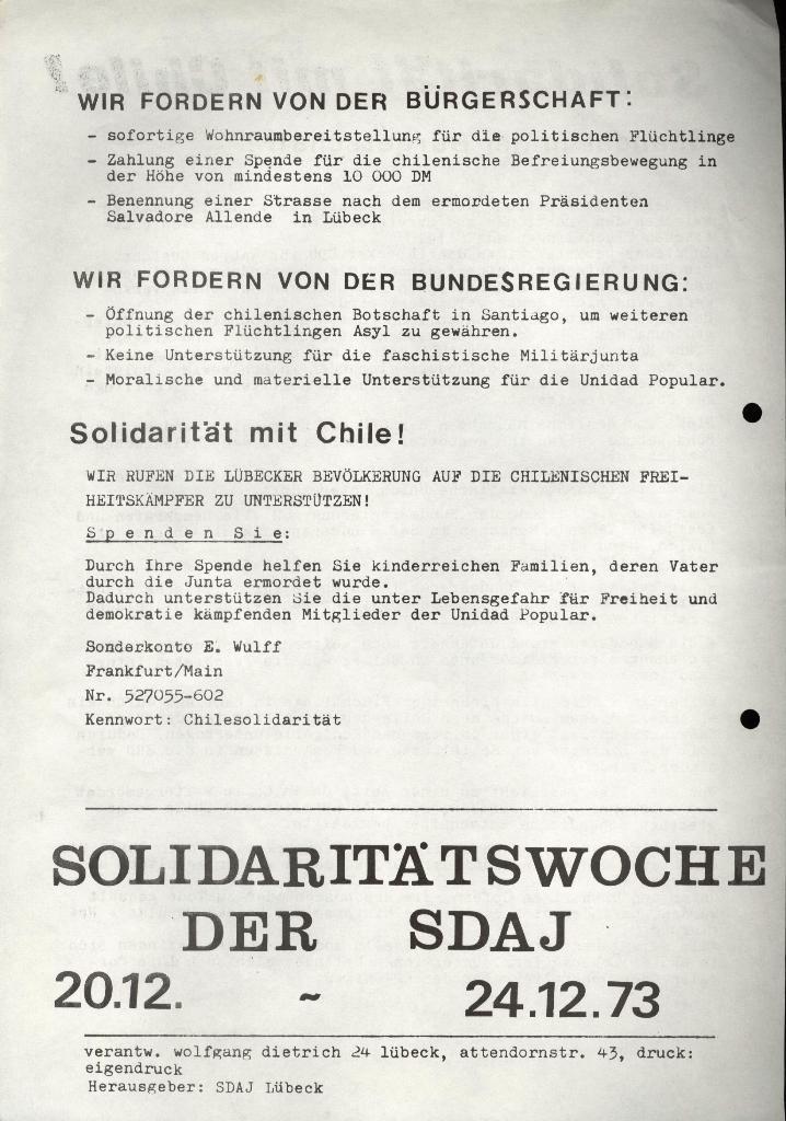 Marxistischer Schülerbund: Info, 3. Jg., Nr. 17, Lübeck, Dez. 1973, Beilage, Seite 2