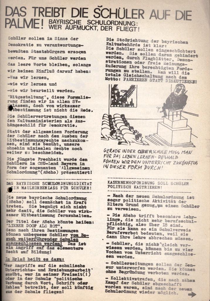 Marxistischer Schülerbund: Info, 3. Jg., Nr. 17, Lübeck, Dez. 1973, Seite 3