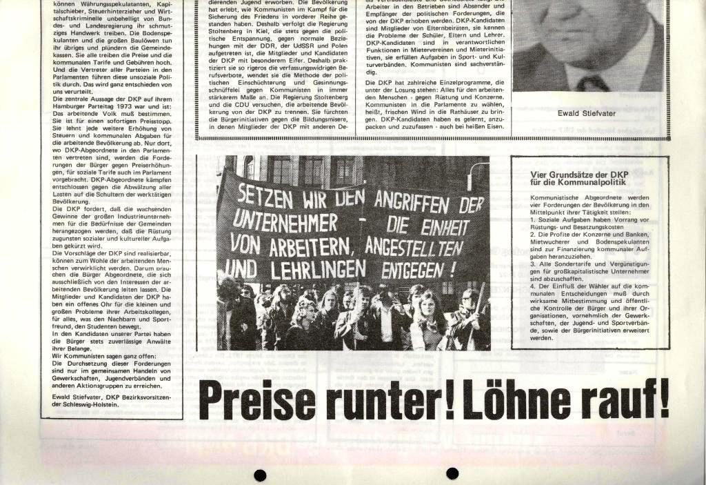 Marxistischer Schülerbund: Info, 4. Jg., Nr. 1, Lübeck, Jan. 1974, Beilage, Seite 2