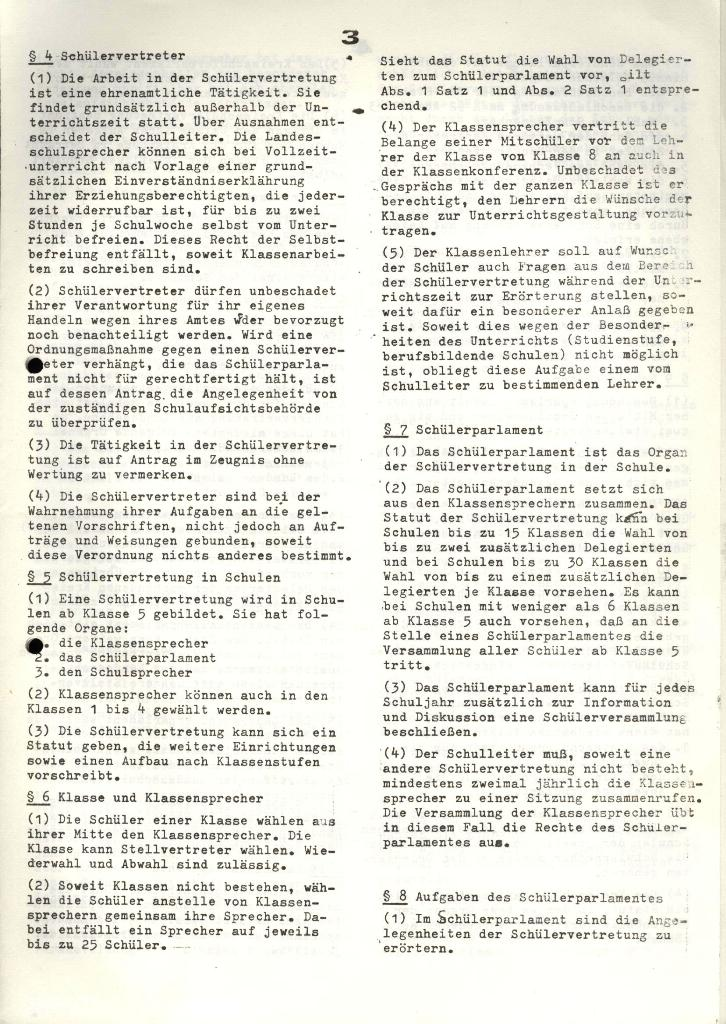 Marxistischer Schülerbund: Info, 4. Jg., Nr. 3, Lübeck, Feb. 1974, Seite 3