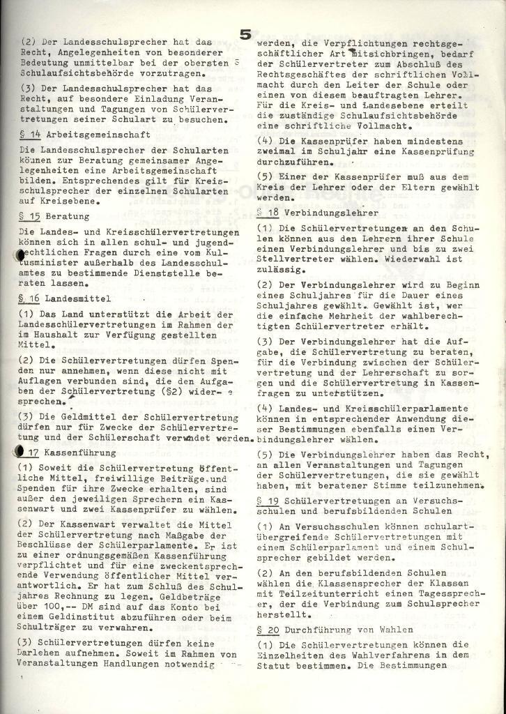 Marxistischer Schülerbund: Info, 4. Jg., Nr. 3, Lübeck, Feb. 1974, Seite 5