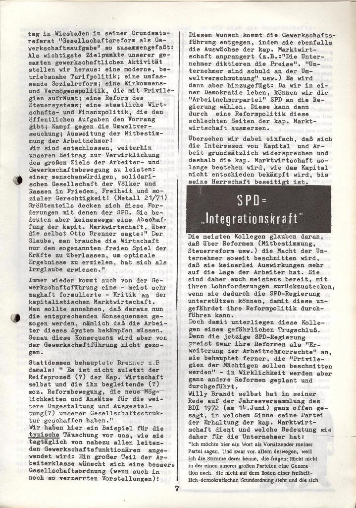 Der Metallarbeiter _ Zeitung des KB/ML, Jg. 3, Nr. 8, Dezember 1973, Seite 7